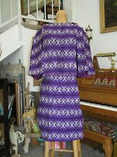 Vintage 1950's Guatamalan Woven Women's Skirt Set and Poncho Style Top sz S ooak