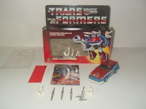 transformers g1 original vintage smokescreen 100% complete with box
