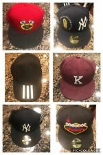 07d776c06af New Era Hats Yankees Blackhawks Fitted Snapback New Pre owned Kith Banned  Nike
