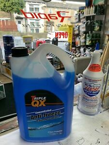 Triple QX 5L Blue AntiFreeze Summer Coolant Concentrate 5 Litre
