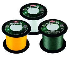 Berkley Whiplash 8 Braid 2000m Bulk Spools Green/Crystal/Yellow 24lb-260lb
