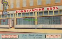 Postcard Tom's Steak House Constantine Bros Birmingham Alabama AL