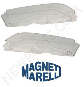 2 pcs For BMW E46 325i 330i Headlight Lens Plastic OEM 63126924045/63126924046