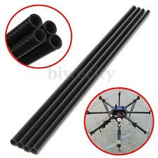 3K Roll Wrapped 10mm Carbon Fiber Tube 8mm x 10mm x 500mm Glossy For RC Quad US