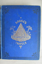 James Bruce. Travels in Abyssinia and Nubia. 1873, illus. by C. A. Doyle.