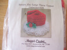 "Maggie'S Crochet ""Santa'S Hat Toilet Tissue Topper"" Kit #K206"