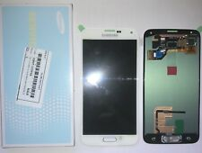 DISPLAY LCD + TOUCH SCREEN ORIGINALE SAMSUNG GALAXY S5 G900F BIANCO SM-G900F KIT