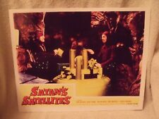 "1958 ""Satan's Satellites"" Lobby Card # 3 11 X 14 Sci Fi Horror"