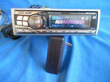 ALPINE CDA-9851R MP3 Radio CD Player  Motorised front MEDIA MODEL IN V/G/ORDER