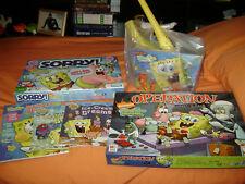 box of misc. Spongebob Squarepants items-now lower price!