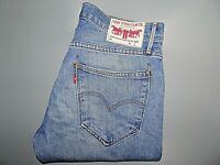 """LEVIS Mens Jeans Blue Denim Slim Tapered Fit SIZE W32 L34 Waist 32"""" Leg 34"""""""