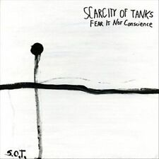 Fear is Not Conscience * by Scarcity of Tanks (CD, 2012, Total Life Society) NEW