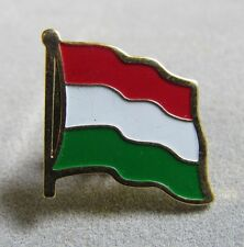 Hungary Flag Pin, Red, White and Green, Metal, Badge, Souvenir 3/4""