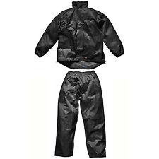 Homme Dickies Imperméable Noir Vermont Costume XXL WP10050 Travail à Capuche