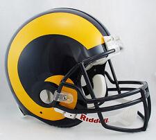 ST. LOUIS RAMS 1995-1999  Riddell AUTHENTIC Throwback Football Helmet NFL