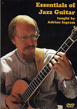 Adrian Ingram The Essentials Of Jazz Guitar Learn to Play Music DVD LESSON TUTOR
