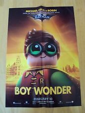 "New Lego Batman Movie Poster 20""x 14""  Character Robin Boy Wonder Promo"