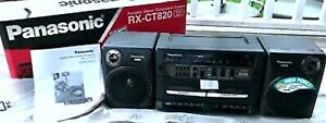 PANASONIC MODEL RX-CT820 PORTABLE STEREO SYSTEM NEW IN BOX COMMERCIAL SURPLUS