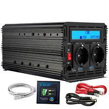 Wechselrichter 2000 4000 Watt 24V 230V Spannungswandler mit LCD LKW RV EDECOA