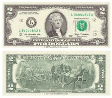 United States USA 2 Dollars 2009 Series L California P-530A Banknotes UNC