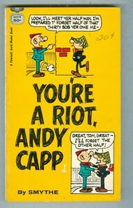 You're a Riot, Andy Capp by Smythe 1970 VG