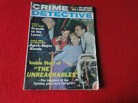 Vintage Real Crime Detective Magazine Crime Detective June 1961              XX