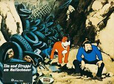 Tim und der Haifischsee ORIGINAL EA-Aushangfoto Hergé / Tim und Struppi SUPER