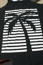 BLVD Graphic Tee Shirt with Palm Tree design - Size M - Pre-owned