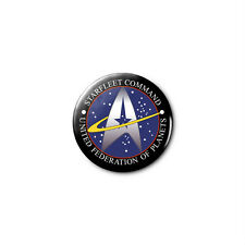 Star Trek (b) 1.25in Pins Buttons Badge *BUY 2, GET 1 FREE*