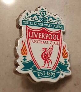 Liverpool FC Official Club Crest Pin Badge - Great Gift Idea