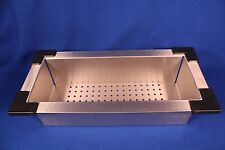 "NEW NIB  VIGO VGA0819 19"" X 8.75"" X 4.75"" 18 GAGE STAINLESS STEEL SINK COLANDER"