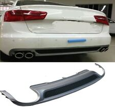 Für Audi A6 4G S6 RS6 LOOK Diffusor Wabengrill Stoßstange Diffuser Exhaust  #43