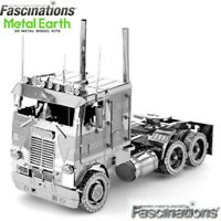 Metal Earth Cab Over Engine COE Truck 3D Laser Cut DIY Model Hobby Building Kit