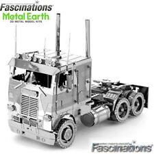 Metal Earth Freightliner Coe Truck DIY Laser Cut 3d Steel Model Kit