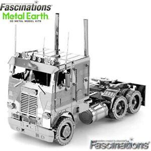 Metal Earth Cab Over Engine COE Truck 3D Laser Cut DIY Model Hobby Building Kit
