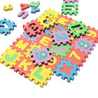 Popular 36pcLight Color Toy Foam Floor Alphabet & Number Puzzle Mat For Kids MW