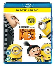 Despicable Me 3 (3D Edition with 2D Edition + Digital Download) [Blu-ray]