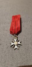 ancienne réduction  médaille croix civique complète + épingle