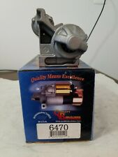 Quality Rebuilders 6470 Remanufactured Starter