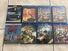 Lot De 7 Dvd 3D Blu Ray + 1 HD DVD Le Roi Lion / Cars 2 / Harry potter/ Avengers