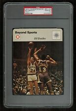 PSA 10 BILL BRADLEY & WILT CHAMBERLAIN 1979 Sportscaster Basketball Card #61-10