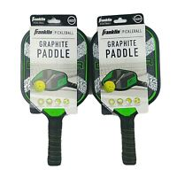 Franklin Graphite Pickleball Paddle Racquet Dagger Honeycomb Set Of 2 - New