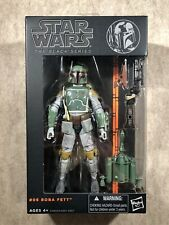 Star War Black Series #06 Boba Fett 6? Action Figure 2013
