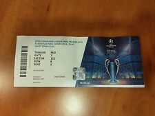 Rare Atletico Vs Real Madrid 2016 Uefa Champions League Final Ticket Milano