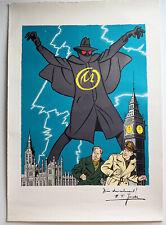 Affiche Blake et Mortimer—La marque jaune—Edgar P. Jacobs—Années 80