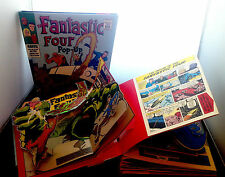 The Fantastic Four 3-D Pop-Up Book ; Hardcover, Modern  and Very Good