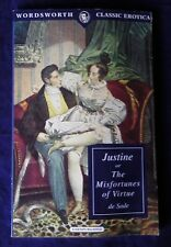 JUSTIN or The Misfortunes of Virtue by Marquis de Sade (Wordsworth Pb, 1996)