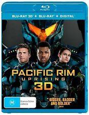NEW - Pacific Rim Uprising (3D Blu-Ray/Blu-Ray/UV)