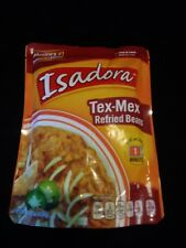Isadora Refried Beans, Tex-Mex Fitness Fiber Health Food Taco Meals Lunch