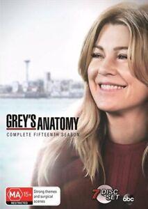Grey's Anatomy - Season 15 DVD